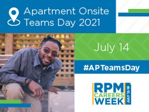 Apartment Onsite Teams Day 2021