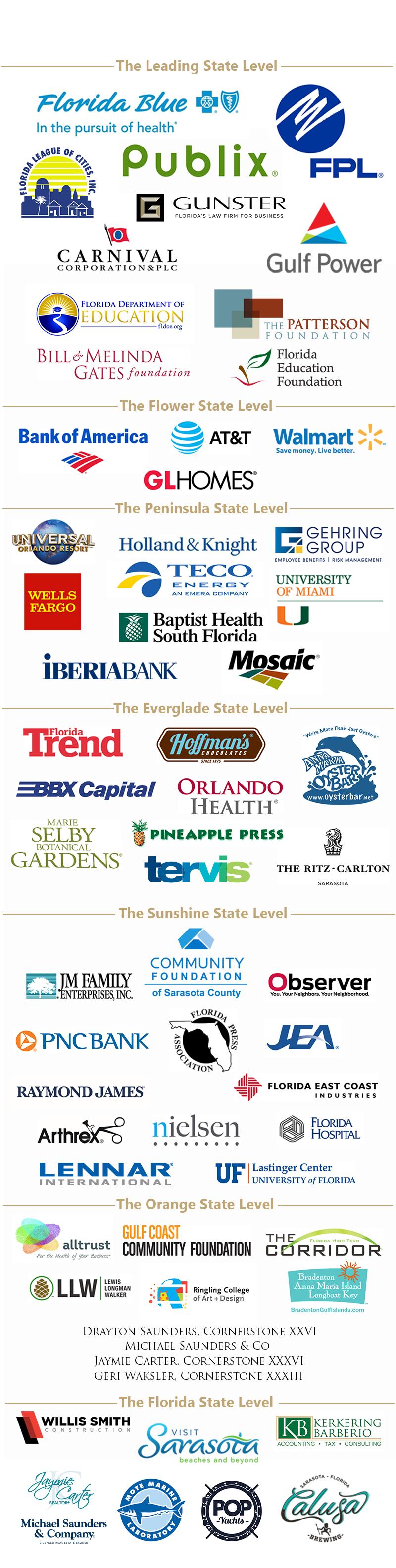2018 Annual Meeting Sponsors