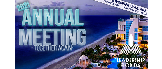 """2O21 Annual Meeting - """"Together Again"""""""