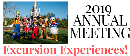 2019 Annual Meeting Excursions