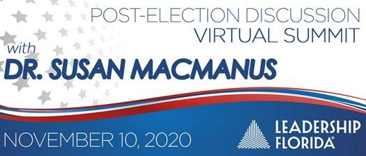 Virtual Summit with Dr. Susan MacManus