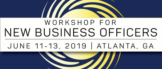 2019 Workshop for New Business Officers