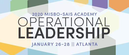 2020 MISBO-SAIS Academy: Operational Leadership