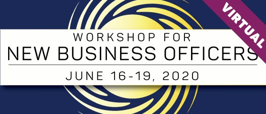 2020 Workshop for New Business Officers