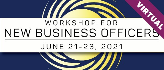 2021 Workshop for New Business Officers