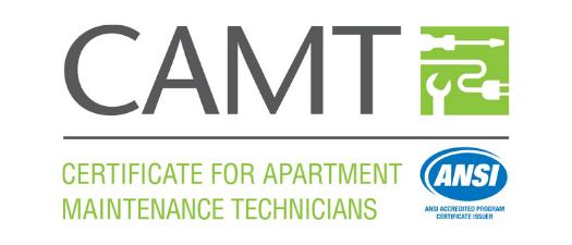 CAMT-Certificate For Apartment Maintenance Technicians Designation