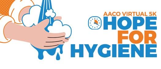 AACO Virtual 5K: Hope for Hygiene