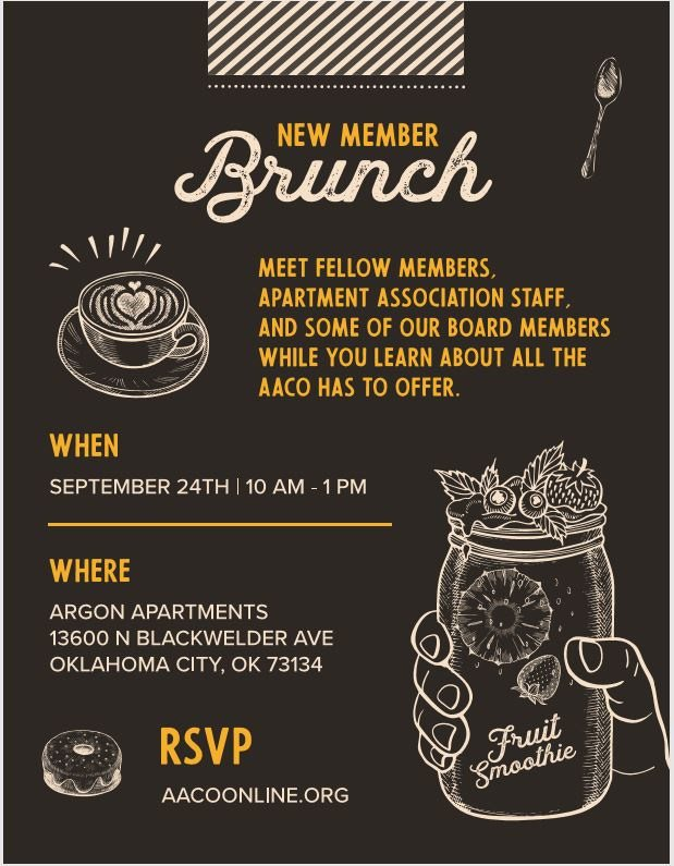 New Member Brunch