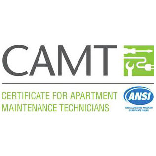 Certificate for Apartment Maintenance Technician