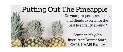 Seminar: Putting Out The Pineapple