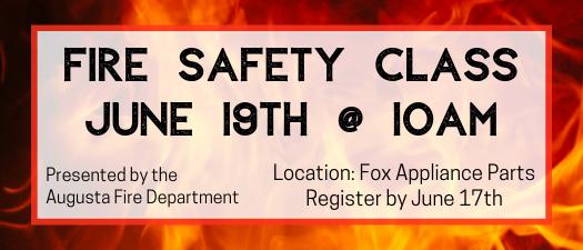 Fire Safety Class