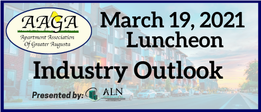 March 2021 Luncheon Meeting