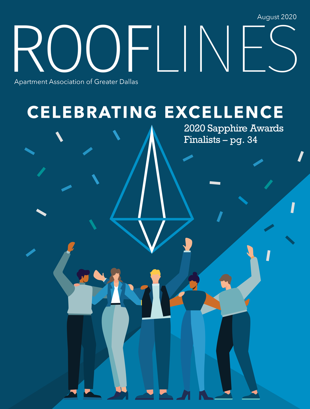 August 2020 Rooflines Cover