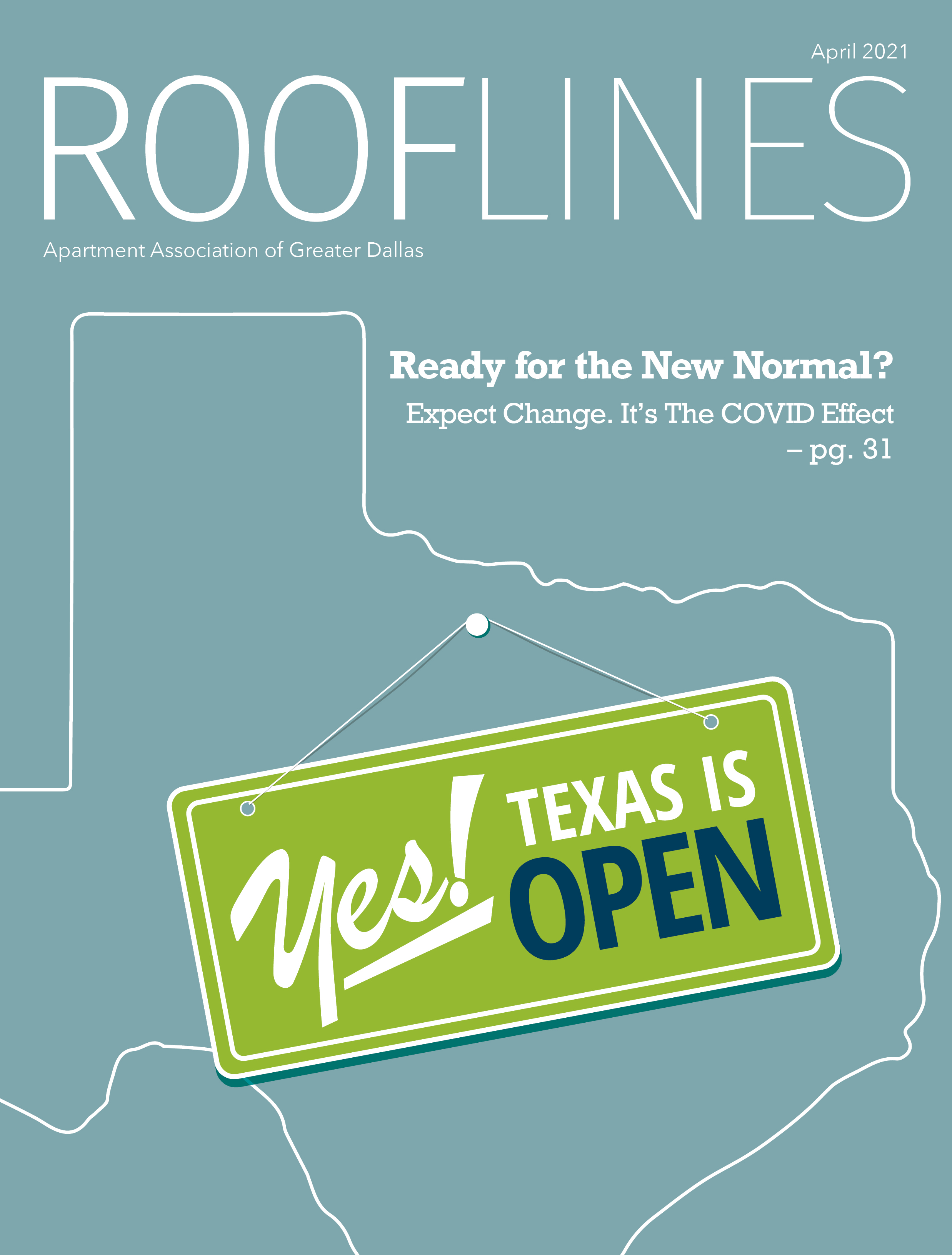 April 2021 Rooflines Cover