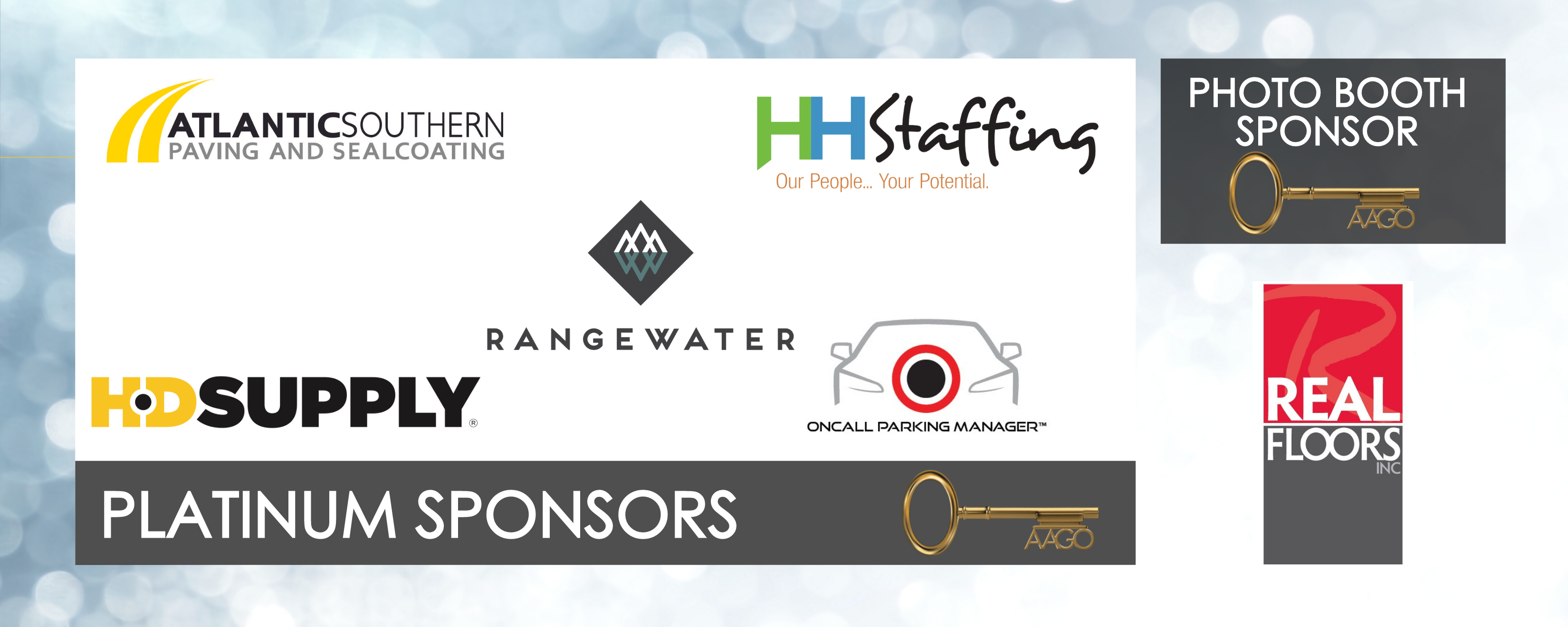 Platinum and Photo Booth Sponsors Banner