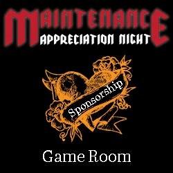 MA Game Room Sponsorship
