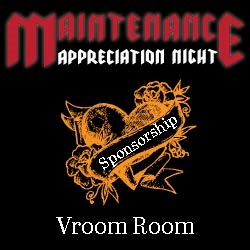 MA Vroom Room Sponsorship