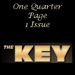 KM One Quarter Page Ad 1 Issue- Quarterly Publication