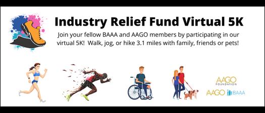 Industry Relief Fund VIrtual 5k