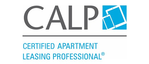 Certified Apartment Leasing Professional (CALP)