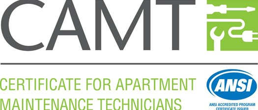 CAMT- Certificate for Apartment Maintenance Technician-SOLD OUT!