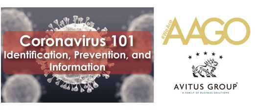 Corona Virus 101:  Identification, Prevention, and Information