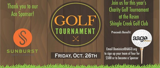 2018 Golf Tournament Fundraiser Hosted by the AAGO Foundation