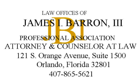 James Barron Logo