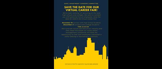 AAKC Apartment Careers Virtual Career Fair
