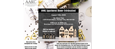 AAKC 100k Apartment Home Celebration!