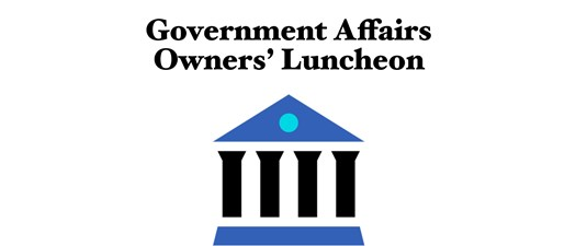Government Affairs Owners' Luncheon Sponsorships