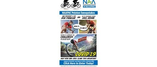 NAAPAC Peloton Sweepstakes