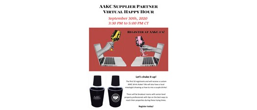 AAKC Supplier Partner Virtual Happy Hour