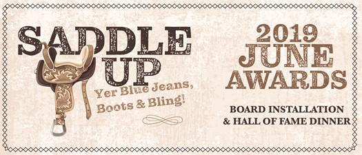 2019 June Awards: Saddle Up!