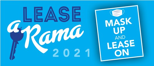 Lease-A-Rama | Mask Up & Lease On