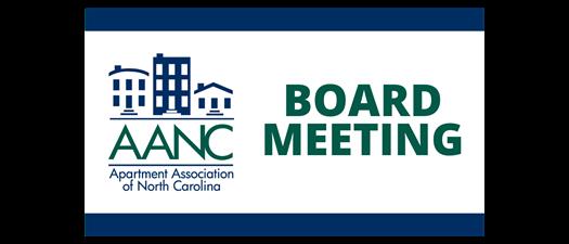 AANC Board of Directors Meeting