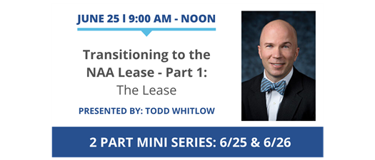 Transitioning to the NAA Lease - Part 1: The Lease