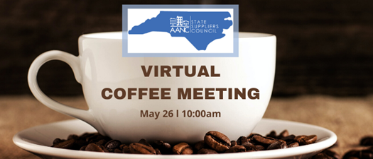 Suppliers: Virtual Coffee Meeting