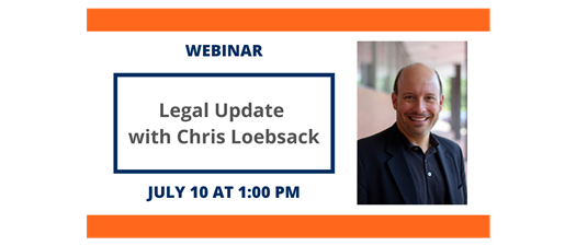 Legal Update with Chris Loebsack