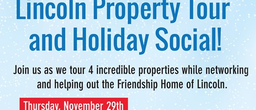 Lincoln Property Tour and Holiday Social