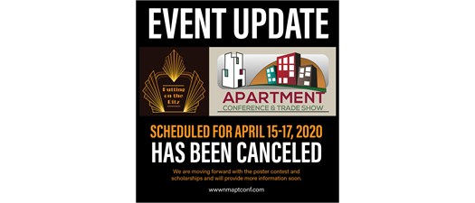 Apartment Conference & Trade Show - Cancelled
