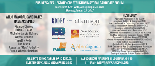 ABQ Mayoral Candidate Forum