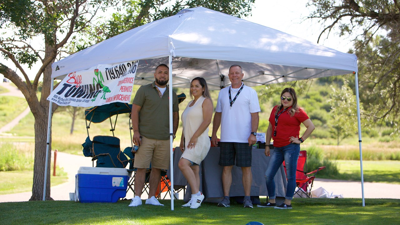 Bug's Towing - Hole Sponsor at 2021 Golf Tournament