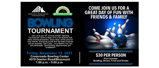 15th Annual Bowling Tournament