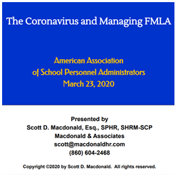 The Coronavirus Pandemic and FMLA (Q&A Followup)