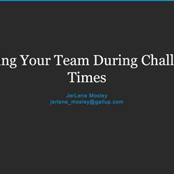 Engaging Your Team During Challenging Times