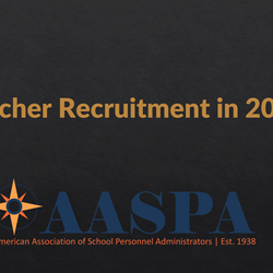 Teacher Recruitment in 2020