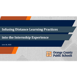 Infusing Distance Learning
