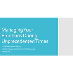 Managing Your Emotions During Unprecedented Times