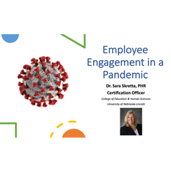 Employee Engagement in a Pandemic